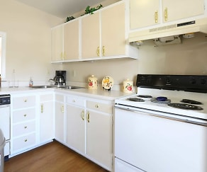 Kitchen, Townhomes Of Ashbrook
