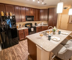 Kitchen, Park Place Apartments in Oviedo