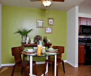 Dining Room, eaves San Rafael