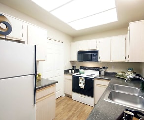 Kitchen, Ventana Apartments