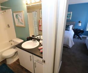 Bathroom, Academy Terrace Apartment Homes