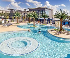 Pool, Vitruvian West