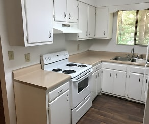 Kitchen, Twin City Apartments