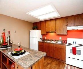 Kitchen, Stonehenge Apartments