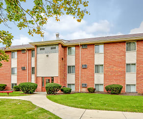 Building, Oakwood Park Apartments