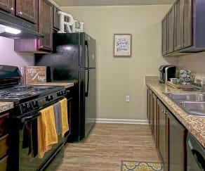 Kitchen, River Hills Apartments