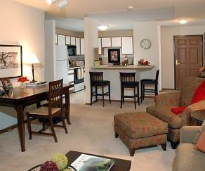 Living Room, Creekside Apartment Homes