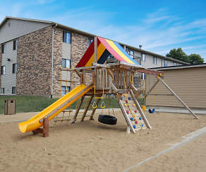 Playground, Cleveland Heights Apartments