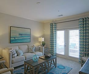 Living Room, Ansley Commons Apartments