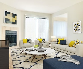 Living Room, Weatherstone Luxury Townhomes North & South