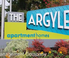 Community Signage, The Argyle