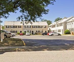Building, Hilton Village Townhomes