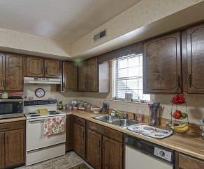 Kitchen, Tiffany Lane Duplexes