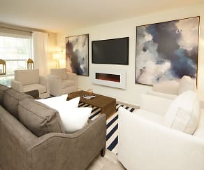 Living Room, Palmetto Creek Townhomes