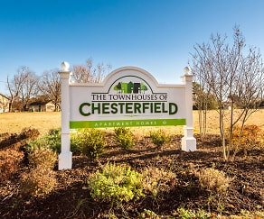 Community Signage, Townhouses of Chesterfield