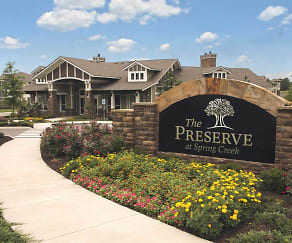 Community Signage, The Preserve At Spring Creek