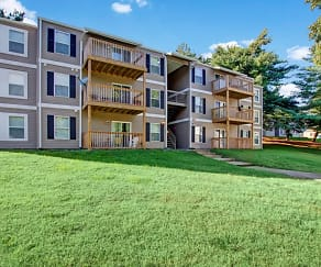 Building, Hampton Chase Apartments