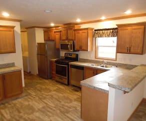 Kitchen, Warren Dunes Village