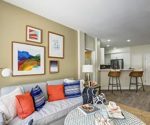 Living Room, Seacrest Homes