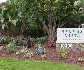 Community Signage, Serena Vista Apartments