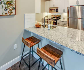 Kitchen, The Kinloch Apartments