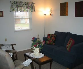 Living Room, Horizon Homes Retirement Community