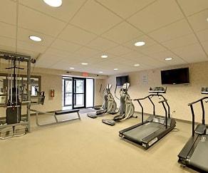 Fitness Weight Room, Ridgewood Park Apartments