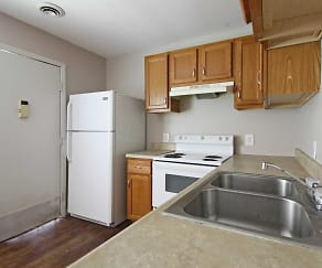 Kitchen, Morganfield Apartments