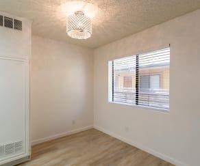 Living Room, Denny Avenue Apartments