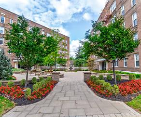 Building, Parktowne Apartments