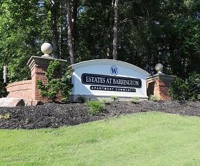Community Signage, Estates at Barrington