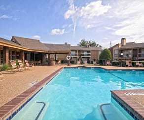 Pool, Keller Oaks Apartments