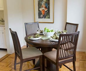 Dining Room, eaves Glover Park