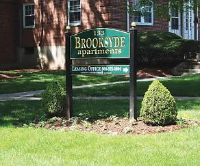 Community Signage, Brooksyde Apartments