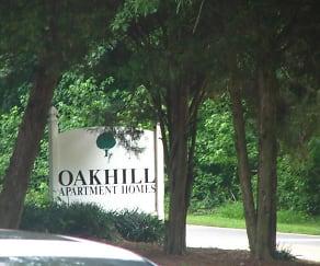 Community Signage, Oakhill Apartments