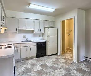 Kitchen, Laura Acres Apartments