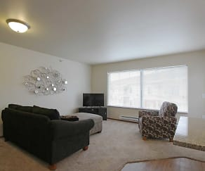 Living Room, Citadel Apartments
