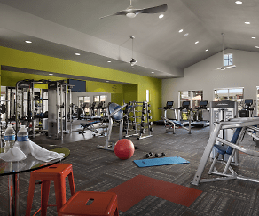 Fitness Weight Room, Highland Groves at Morrison Ranch