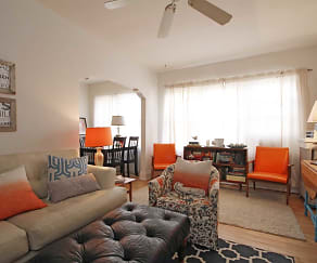Living Room, East Side Apartments