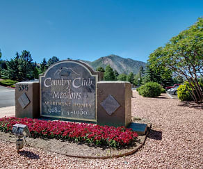 Community Signage, Country Club Meadows
