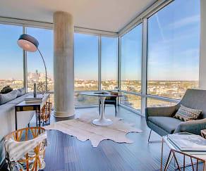 Living Room, 77030 Luxury Properties