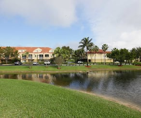 Lake, The Palms of Doral Apartments