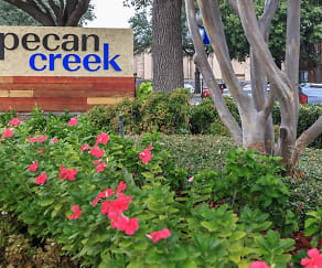 Community Signage, Pecan Creek Apartments