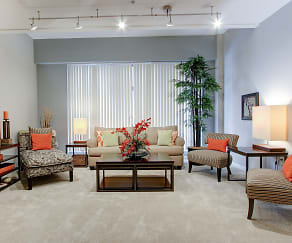 Living Room, The Residences at 668