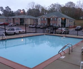 Pool, Blossom Apartments