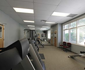 Fitness Weight Room, River Run Apartments