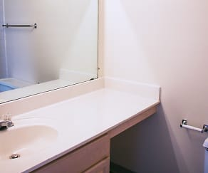 Bathroom, Regency Place Apartments