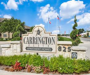 Community Signage, Carrington Place I & II