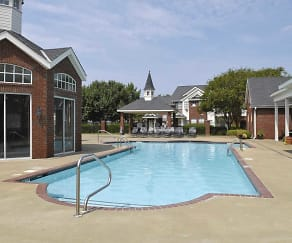 Pool, Inverness Apartments