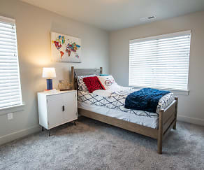 Bedroom, Haven Cove Townhomes